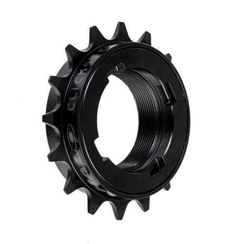 Halo Clickster Freewheel 16T - Black BMX Single Speed Cro Mo 72 point pickup