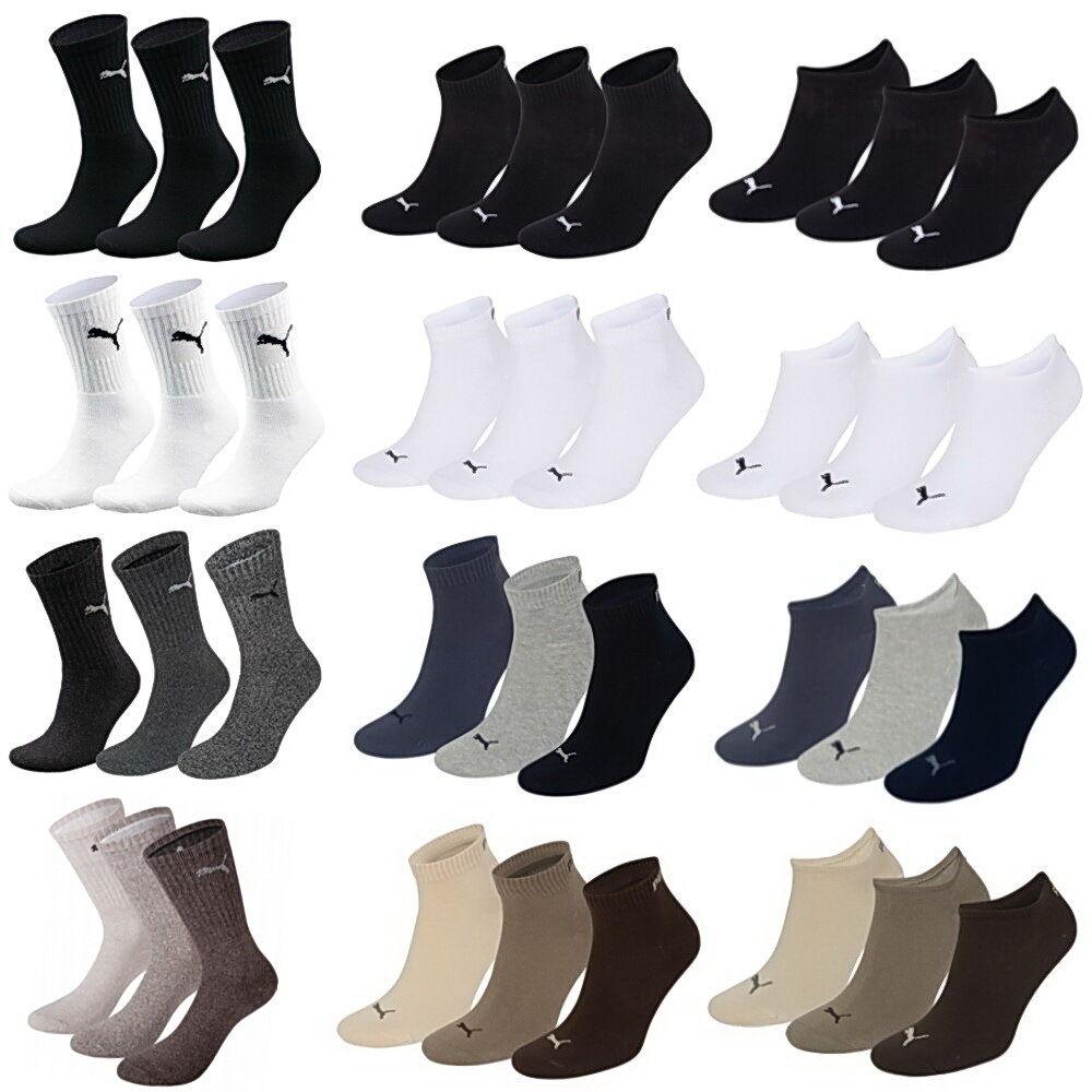 Puma Socken Sport Quarter Sneaker 9 12 15 24 Paar Füßlinge Sportsocken Tennis