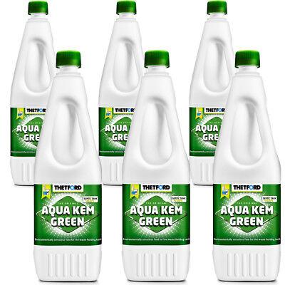 Thetford AQUA KEM GREEN Sanitärflüssigkeit 6 x 1,5 Li… | 08710315990225