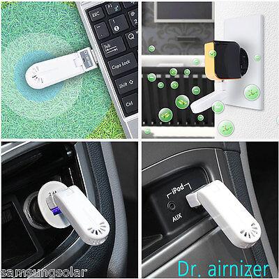 [Dr.airnizer] Release Ions USB type Air Purifier Air freshener eliminate dust