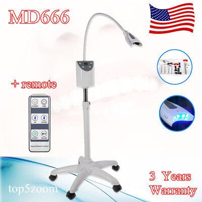 Dental Mobile Teeth Whitening System Accelerator Oral Bleaching LED Light Lamp