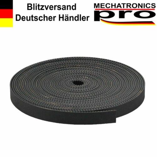 GT2 / 2GT Zahnriemen 10mm Neopren mit Fiberglas Kern 3D Drucker CNC Linear