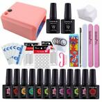 Alle Voor NAIL Art BASE TOOL 36 W UV Lamp Kleur Losweken Gel