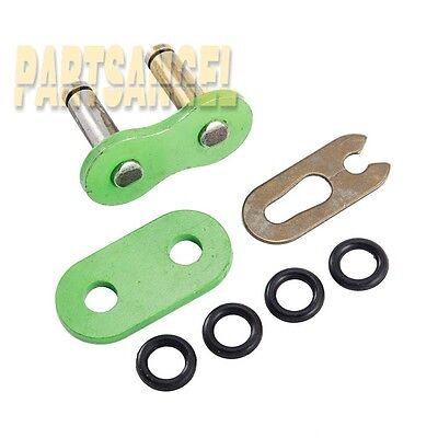 Brand New O Ring Chain Master Link Green 630 Pitch