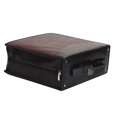 Protable 320 Disc CD DVD DJ Media Case Organizer Holder Storage Bag Wallet Black