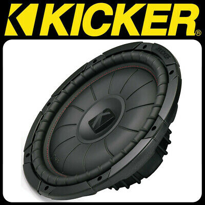 KICKER CompVT Serie CVT124 4 Ohm 30cm Subwoofer 400 W RMS Bass Woofer Chassis 400w 4 Ohm Subwoofer