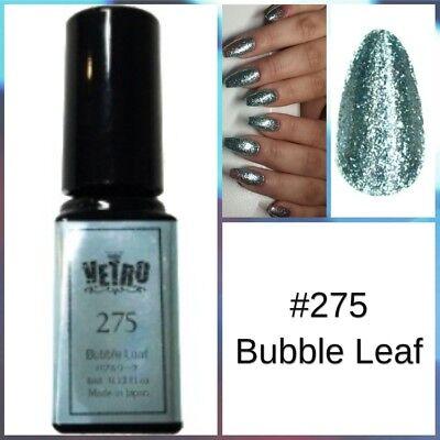 Vetro Gel Leaf Glitter Nail Polish 275 Bubble Leaf 4Ml Japan Free Shipping Gift