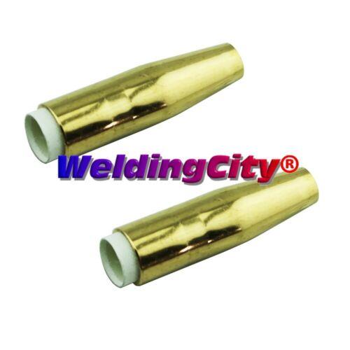 "WeldingCity® 2-pk Gas Nozzle 4295 (3/8"") for Bernard MIG Welding Gun | US Seller"