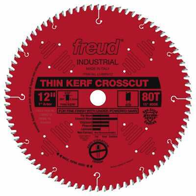 Freud-LU88R012 Industrial 12in. Thin Kerf Fine Finish Crosscut Blade wit Fine Cross Cut Circular Saw