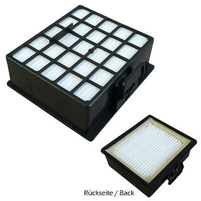 für Siemens VS06G2410 Synchropower VS 06G2410 Hepa Filter Abluftfilter geeig