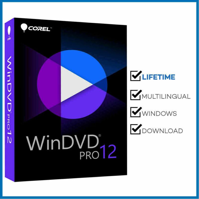 Corel WinDVD Pro 12 ✔ LifeTime License Key ✔ Fast Delivery
