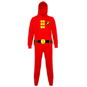 Made from a cosy fleece this onesie is perfect for Marvel fans. In the style of everyone's friendly neighbourhood Spiderman with hooded mask and easy front zip fastening.