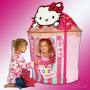 Hello Kitty GetGo Cupcake Kiosk Shop Pop Up Feature Play Tent Wendy House