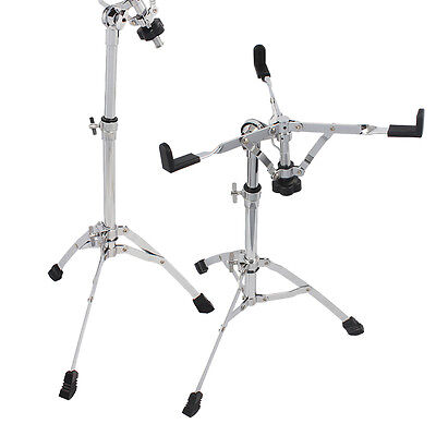 Snare Drum Stand Multiple Triangle Bracket Hardware Double Braced Holder