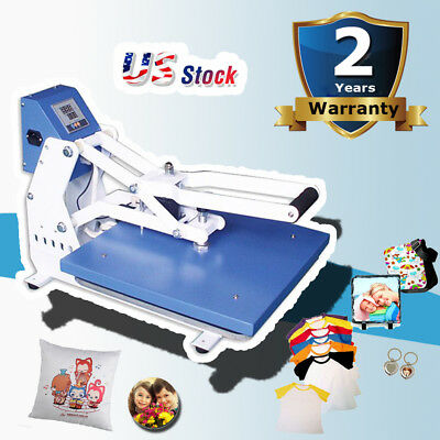 Usa Stock 110v Best 16 X 20 Auto Open Heat Press Machine Horizontal Version