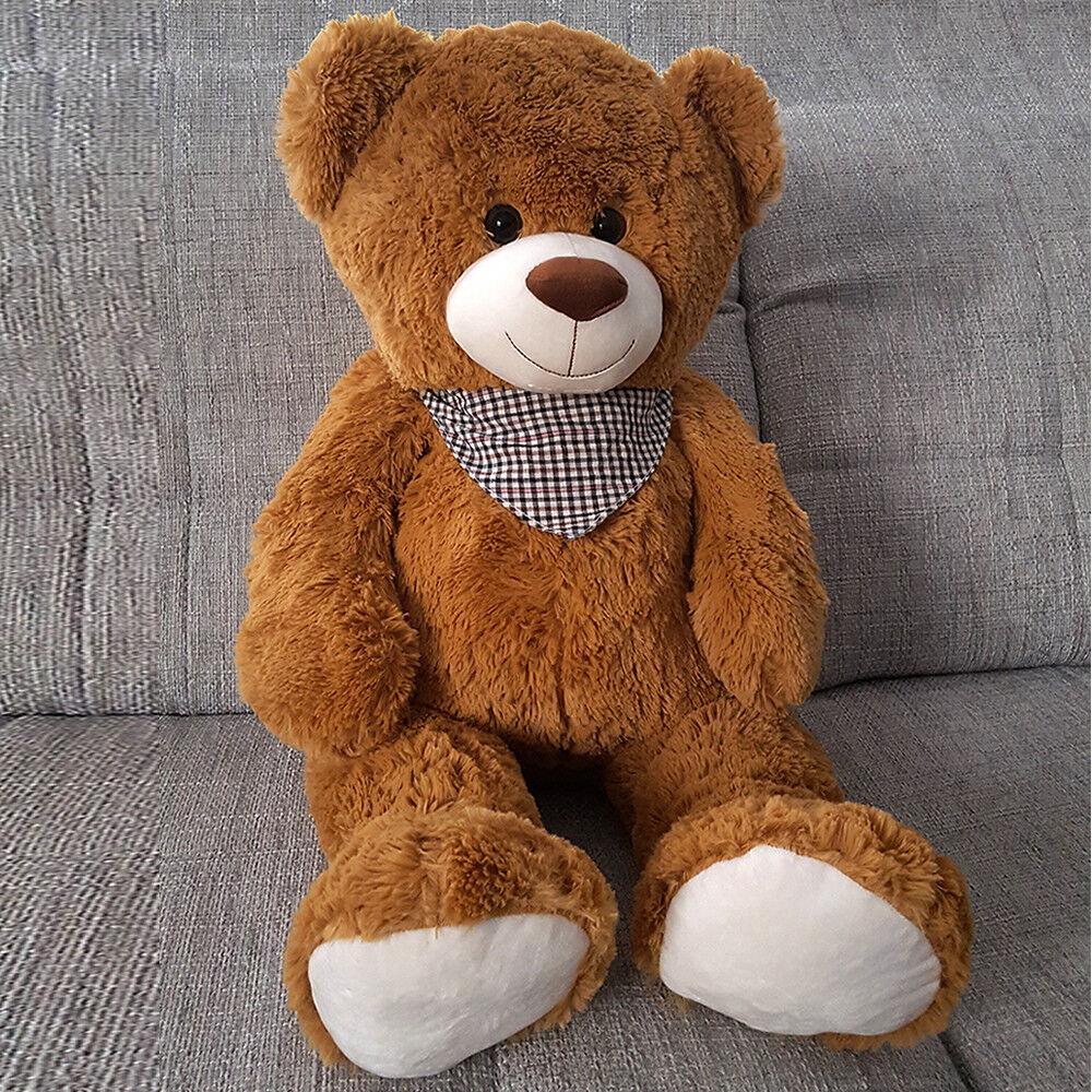 Teddy Teddybär Plüschteddy Bär Kuscheltier ca.1 Meter Plüschtier Plüschbär XXL  Braun