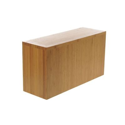 Cal-mil Display Riser Bamboo Rectangular - 20l X 7w X 11h 166-11-60