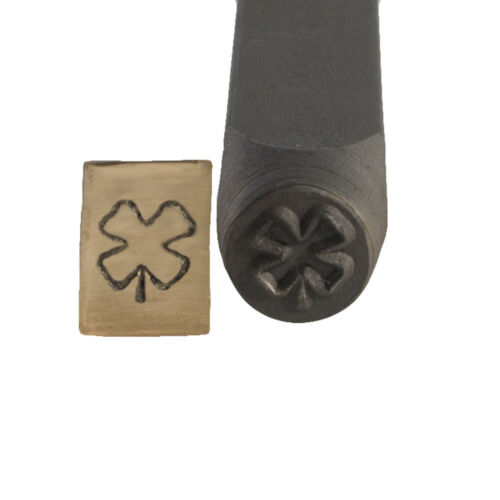 Four Leaf Clover Metal Stamp 6 mm - SFC Tools - 55-604