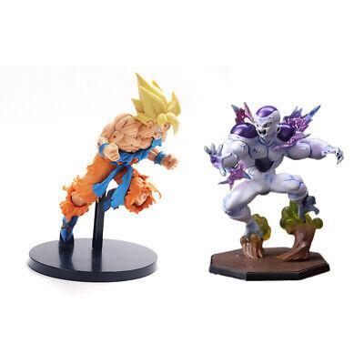 Dragon Ball Z Super Saiyan Goku Son Gokou vs Frieza 2pc 7.5
