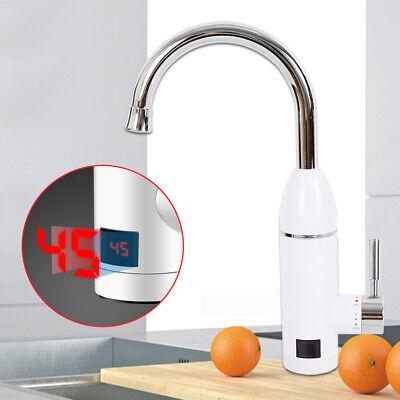 Grifo Calentador de agua eléctrico instantáneo grifo de la Cocina 3KW bañera