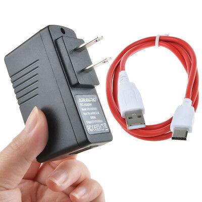 AC Charger Cord for Nabi DREAMTAB HD8 Kids Tablet FUHU DMTAB-NV08B NABIJR-NV5B
