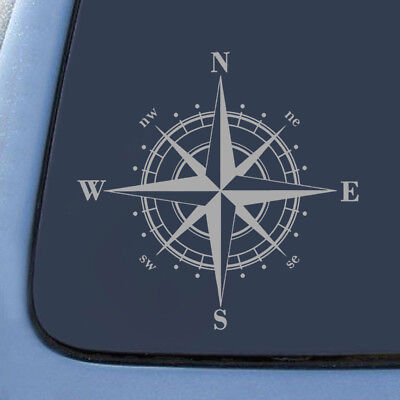 1x Perfect Stylish PET Art Design NSWE Compass Car Sticker Durable DIY Decal for sale  Shipping to Canada
