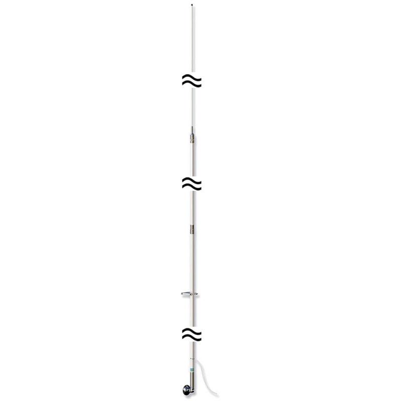 Shakespeare 393 23ft 3pc SSB Single Side Band Marine Boat Whip Antenna