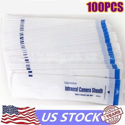 100 Sheath Dental Camera Sleevesheathcover Disposable For Intraoral Camera