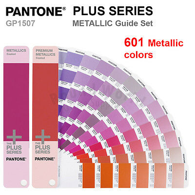 Pantone Plus Series Gp1507 Metallic Coated Color Formula Guide Set 601 Colors