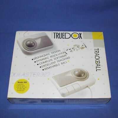 UNOPENED TRUEDOX TRACKBALL IBM PC/XT/AT/386/486 SEALED