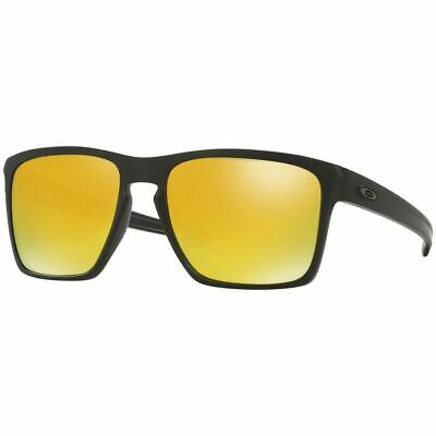 New Authentic Oakley Sliver XL Unisex Sunglasses 24k Gold Iridium Lens OO9341 (Oakley Sunglasses Gold Lens)