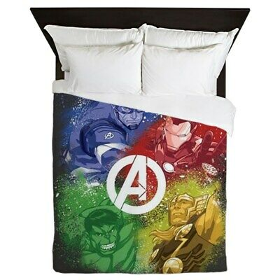 CafePress The Avengers Graffiti Queen Duvet