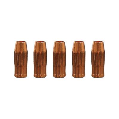 5-pk 12 Gas Nozzle For Snap-on Mig Welder Ya205 Ya217 Ya219 Ya240 Part