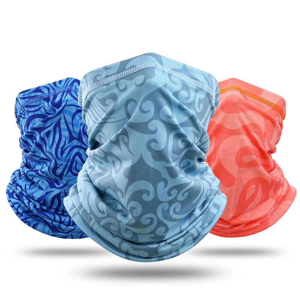 Balaclava Neck Gaiter UV Protection Face Mask Breathable Bandana Outdoor Sports Clothing, Shoes & Accessories