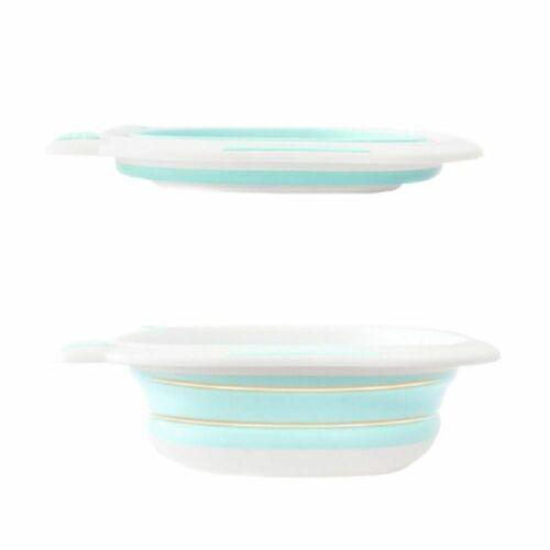 Portable Baby Bathtub Newborn Washing Plastic Bath Tubs Infant Basin Washbowl
