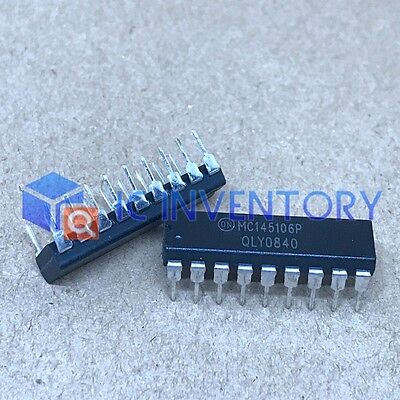 10pcs Mc145106p Encapsulationdip-18pll Frequency Synthesizer
