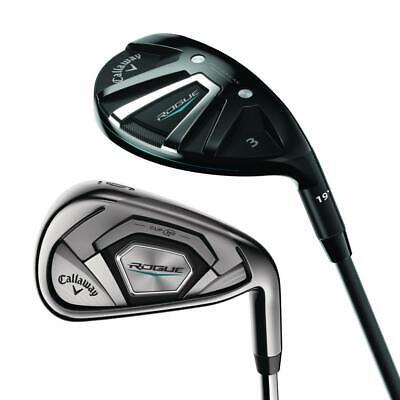Callaway Golf Rogue Irons/Hybrids Combo Set GREAT SPEED & FE