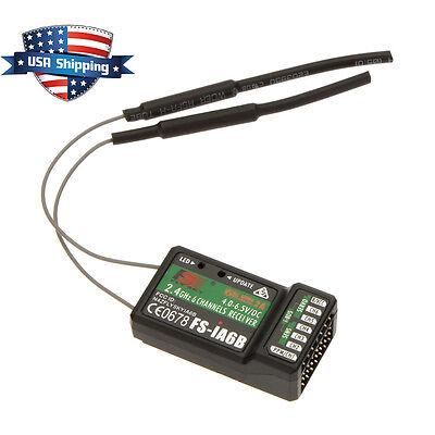 Flysky Fs Ia6b 2 4Ghz 6Ch Receiver Ppm Output Ibus Port For Fs I4 I6 I10