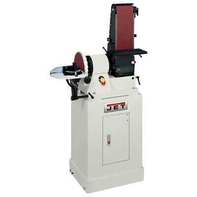 Jet 48 In. Belt 9 In. Disc Combination Sander W Closed Stand 708597k New
