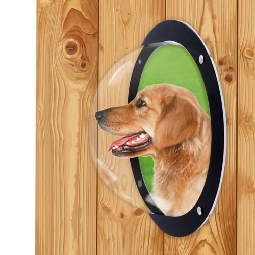 Dog Fence Window F/ Pet - Durable Acrylic Cat Dome F/ Backyard Fence 5 Height  - $18.68