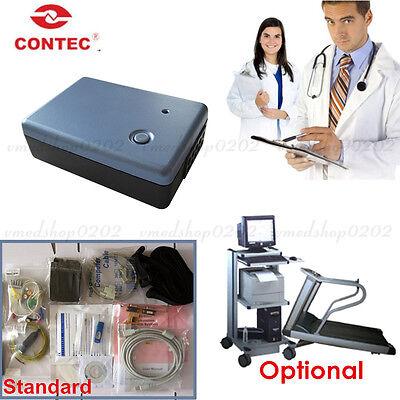 Contec8000s 12-lead Exercise Stress Ecgekg System Wireless Machine Pc Software