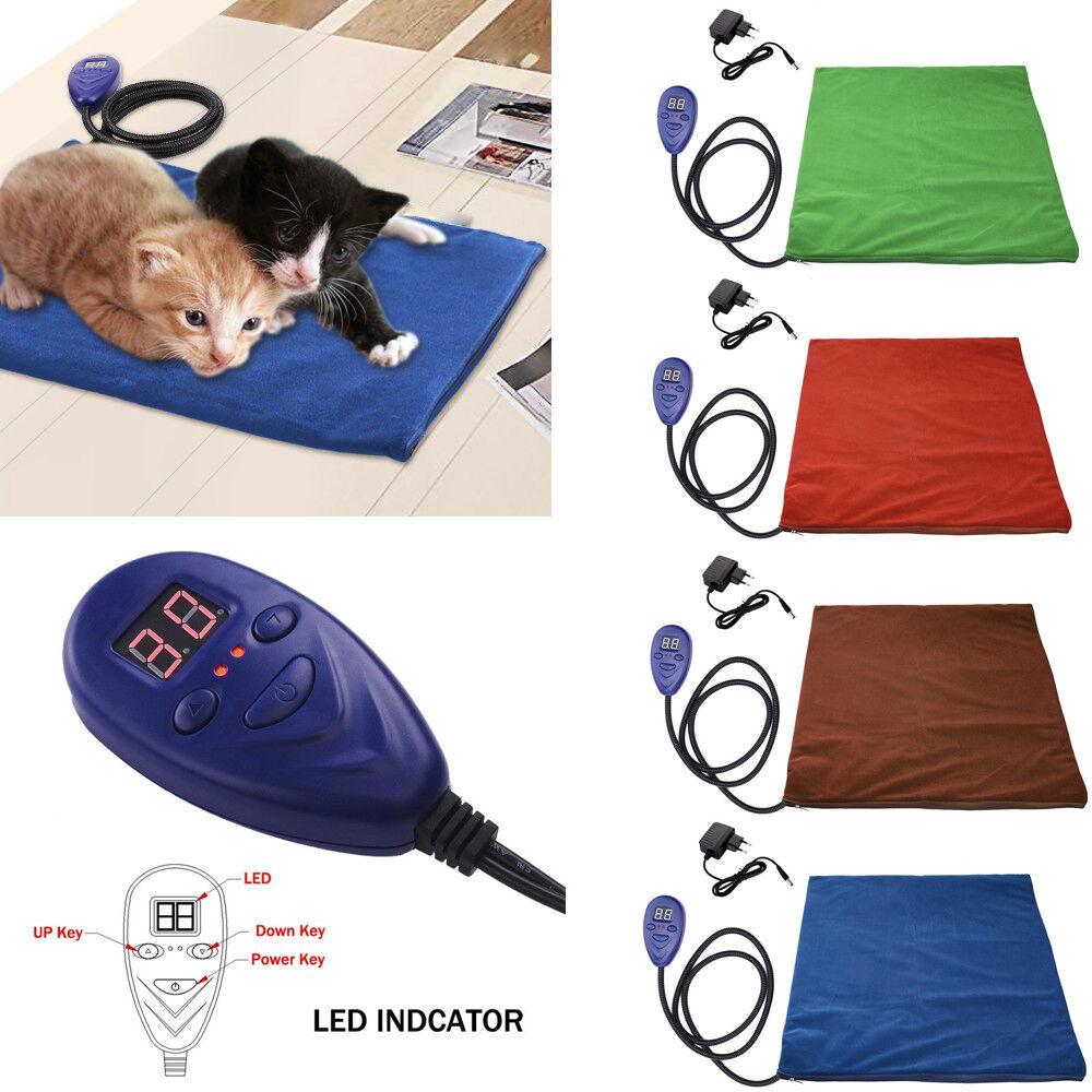 30W Elektrische Heizdecke Heizmatte Heizkissen Haustier Wärmekissen Hunde Katze