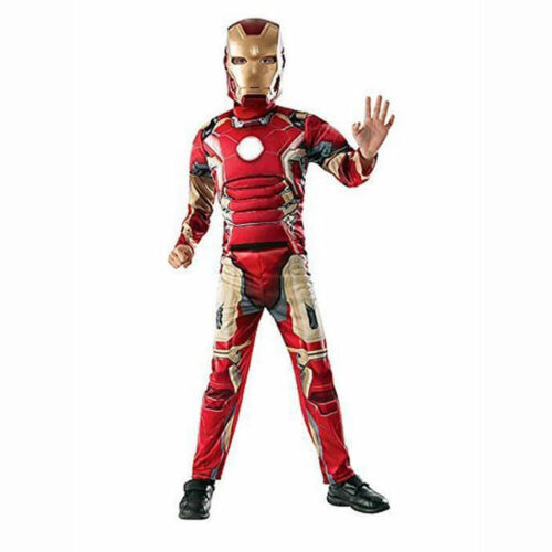 Marvel Avengers Iron Man Muscle Chest Child Boys Costume 4-6 w Small Defect NEW