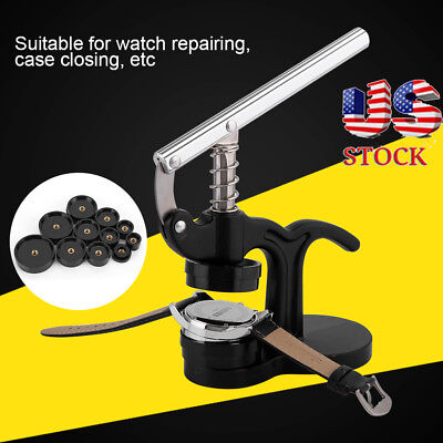 18 - 50mm Watchmaker Tool Watch Press Set Back Case Closer Crystal Glass Fitting
