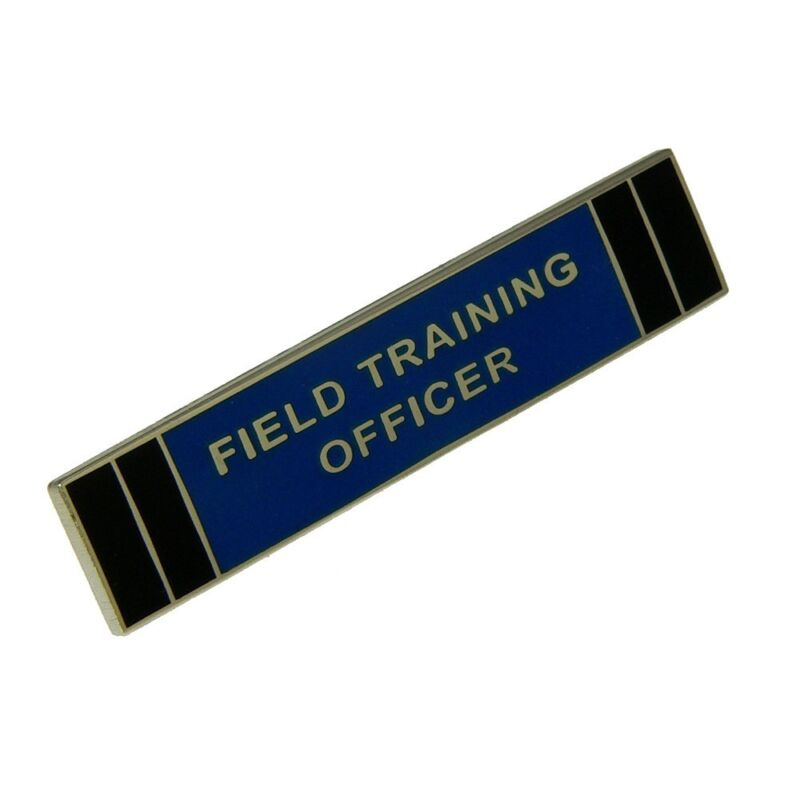 FTO Police Citation Bar Field Training Officer Merit Award Commendation Pin