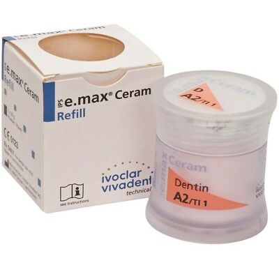 Ivoclar Ips E.max Ceram Shade Dentin A-d A2ti 1 20g X 1 Bottle 596959
