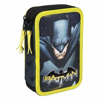 2493 - Astuccio Scuola Batman 3 zip scuola umo pipistrello pipistrello robin