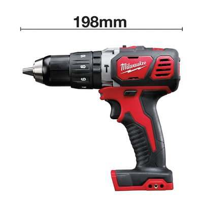 - Milwaukee 18v Combi Drill M18BPD-0 Cordless Compact Hammer Drill Bare Unit