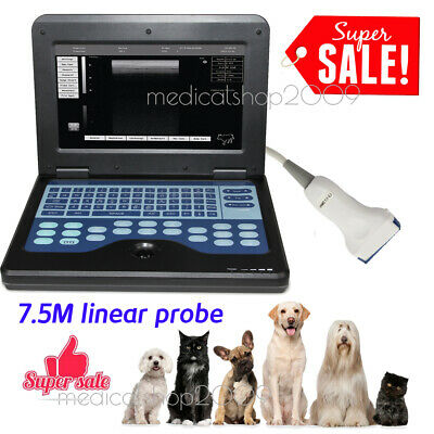 Animal Veterinary Use Portable Laptop Machine Digital Ultrasound Scannerlinear