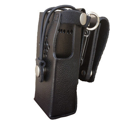 Case Guys Hy3020-3bwd Hard Leather Holster For Hytera Pd602 Radios